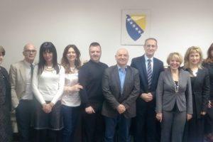 Ministar Sinanović sa ekspertima Svjetske banke