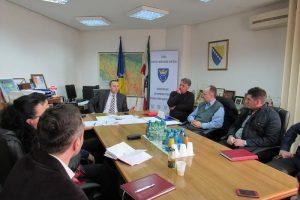 Sastanak ministra sa pomoćnicima načelnika