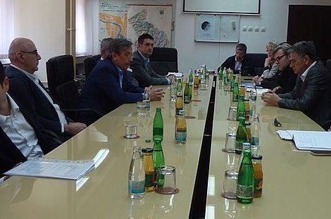 Sastanak s predstavnicima Autocesta i izvođačem radova na Koridoru Vc