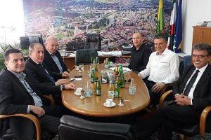 Gradonačelnik Kasumović primio visoku delegaciju Opštine Bijelo Polje
