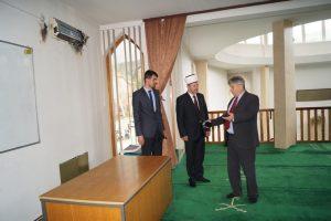 Muftija posjetio Ferhat - pašinu džamiju u Žepču nakon udara groma