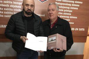 Ramo Isak i Taib Spahić autori knjige