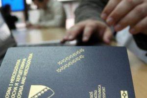 Novi zastoj u izdavanju bh. pasoša