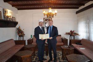 Muftija zenički primio predsjedavajućeg Skupštine ZDK