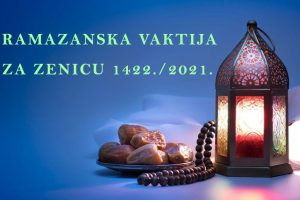 ramazan vaktija 2021 zenica