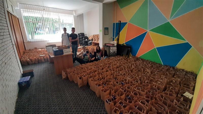 podjela paketa za 800 korisnika Gradske narodne kuhinje